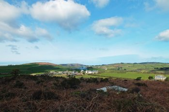 Trencrom and Trink Hill