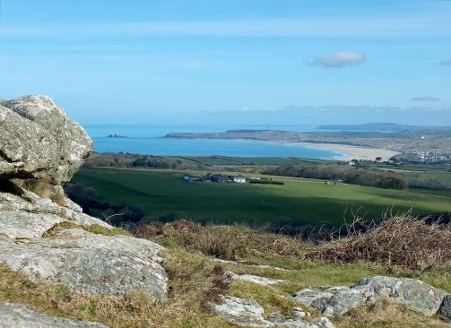 Godrevy Lighthouse and Hayle beaches