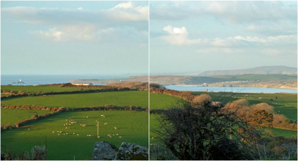 Godrevy Lighthouse and the Hayle estuary