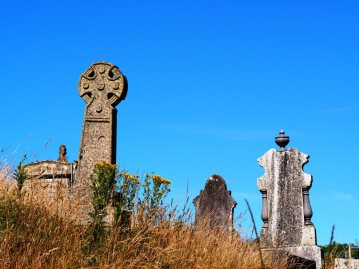 Celtic Cross, Phillack Cemetery