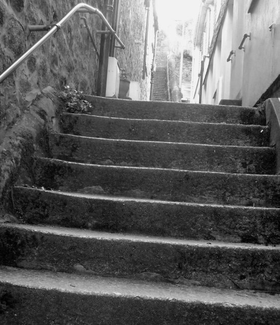 Steps in St Ives