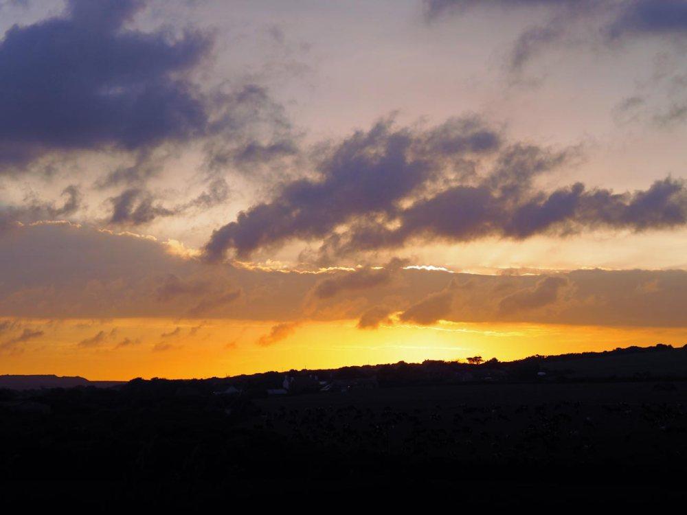 A birthday sunset