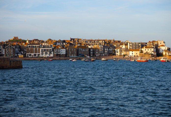 A choppy harbour