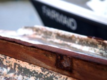 Fishing boat hull