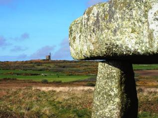 Lanyon Quoit and Ding Dong Mine