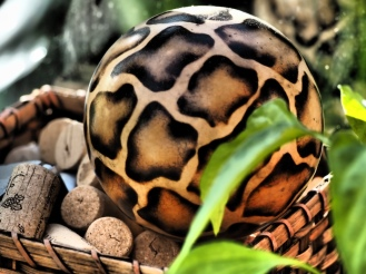 African Seed Pod (on wine corks)