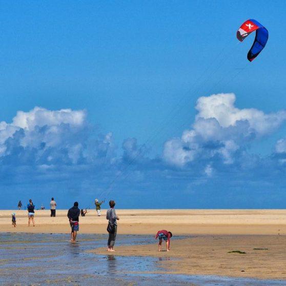 Kite surfing Hayle
