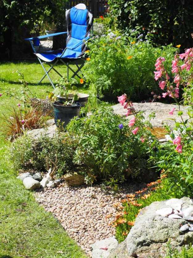 Gravel garden - August 2017