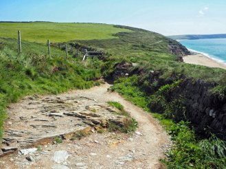 Coastal Path - rerouted