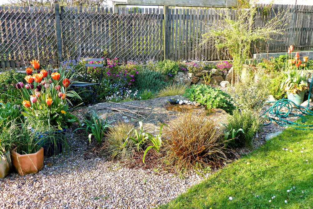 The Sunny border and Gravel Garden