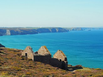 Wheal Coates Mine Ruins