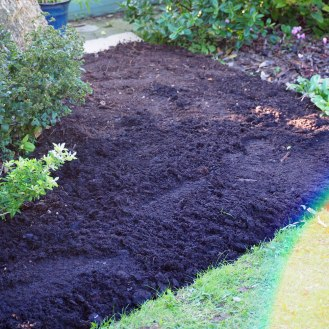 Compost laid