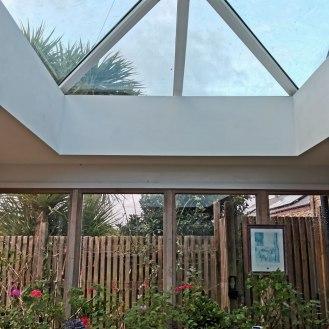 New Lantern roof
