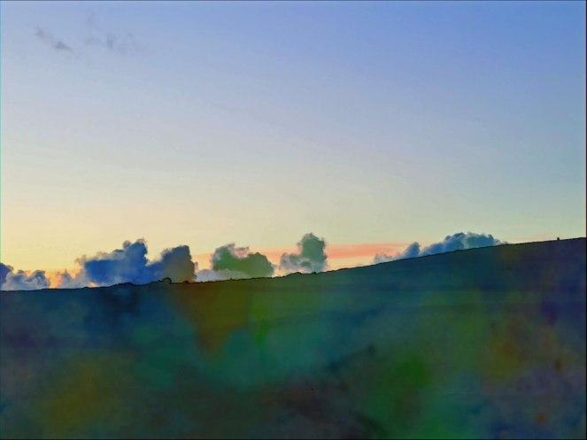 watercolour-sunset